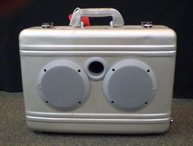 Stainless Sound Sonic Suitcase Speaker