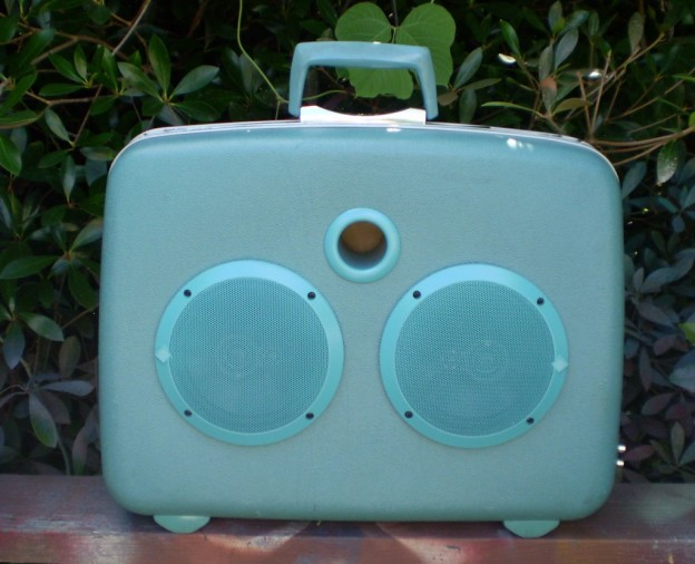 Aqua Man at the Movies Sonic Suitcase Speaker