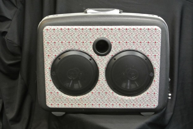 Grey Rocket Sonic Suitcase Speaker