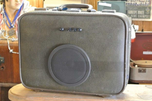 Brown Tortoise Guitar Suitcase