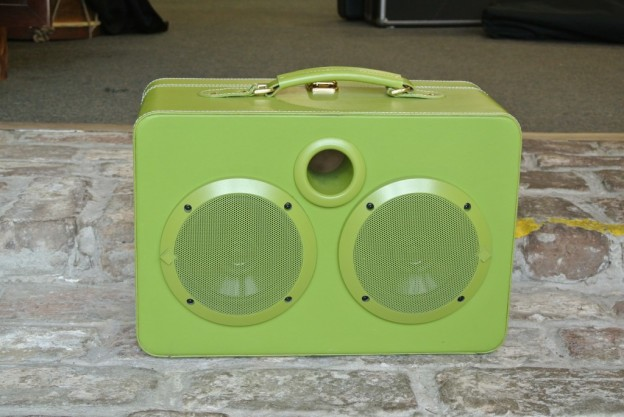 Green Vegetables Sonic Suitcase Speaker