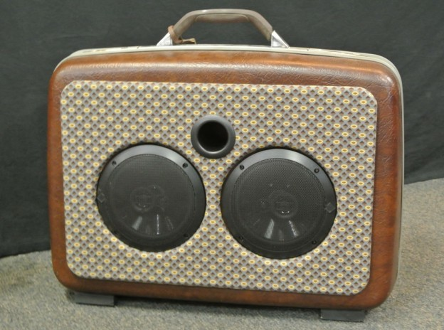 Brown Souls Sonic Suitcase Speaker