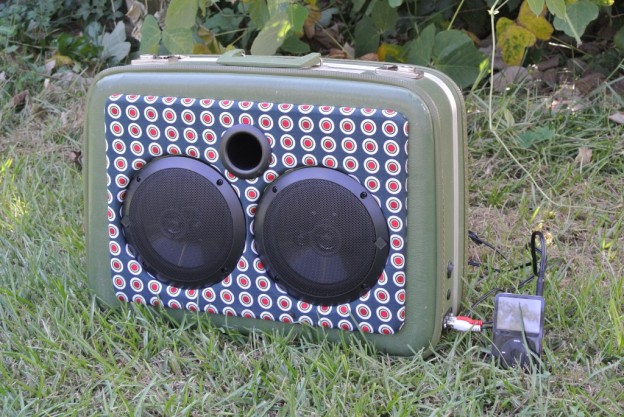Green Thinking Fellers Union Sonic Suitcase Speaker