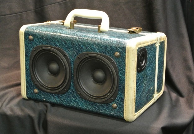 Blue Green Gene Clark Sonic Suitcase Speaker