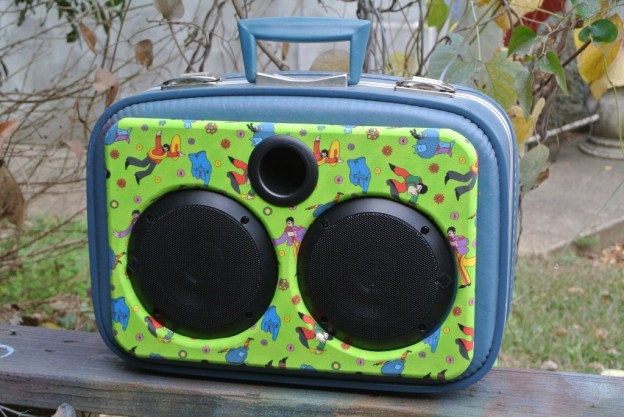 Blue Meanies Sonic Suitcase Speaker