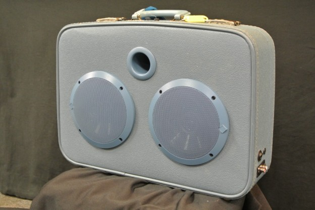 Blue Otis Sonic Suitcase Speaker