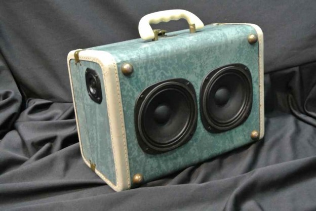 Aqua Richie Havens Sonic Suitcase Speaker
