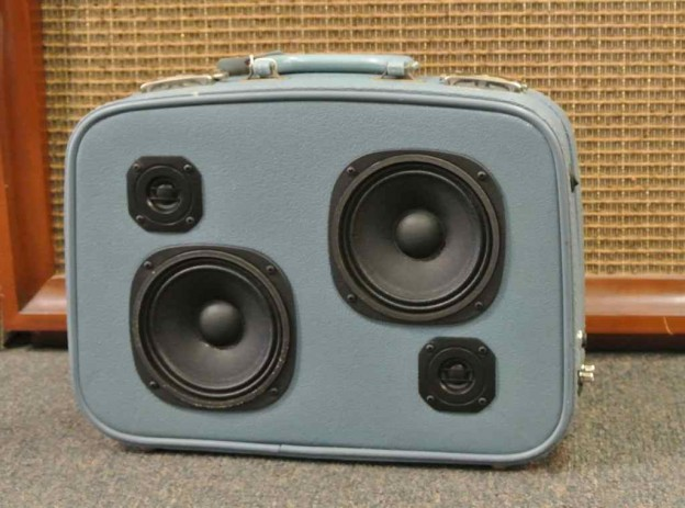 Blue Screaming Messiahs Sonic Suitcase Speaker