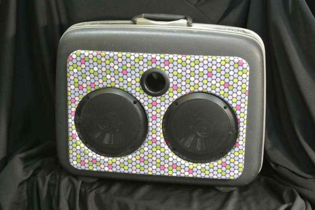 Grey Sly Stone Sonic Suitcase Speaker