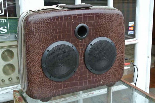 Brown Turtles Sonic Suitcase Speaker