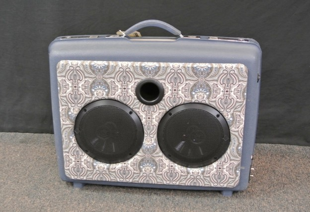 Blue Country Rock Sonic Suitcase Speaker