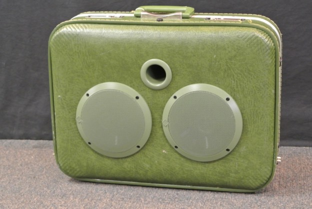 Green Manalishi Sonic Suitcase Speaker