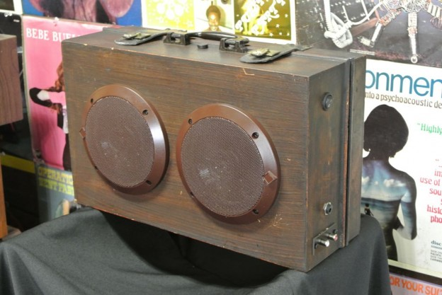 Brown Treasure Sonic Suitcase Speaker