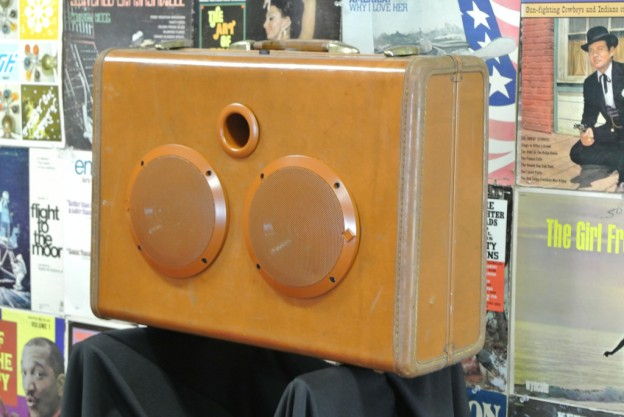 Camel Dust & Dreams Sonic Suitcase Speaker