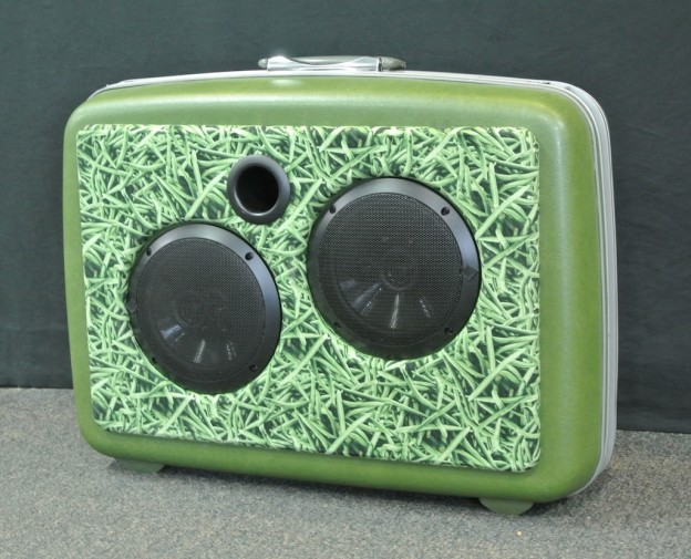 Green Bean Casserole Sonic Suitcase Speaker