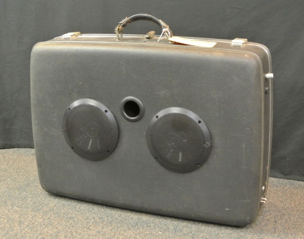 Grey Ghost Sonic Suitcase Speaker