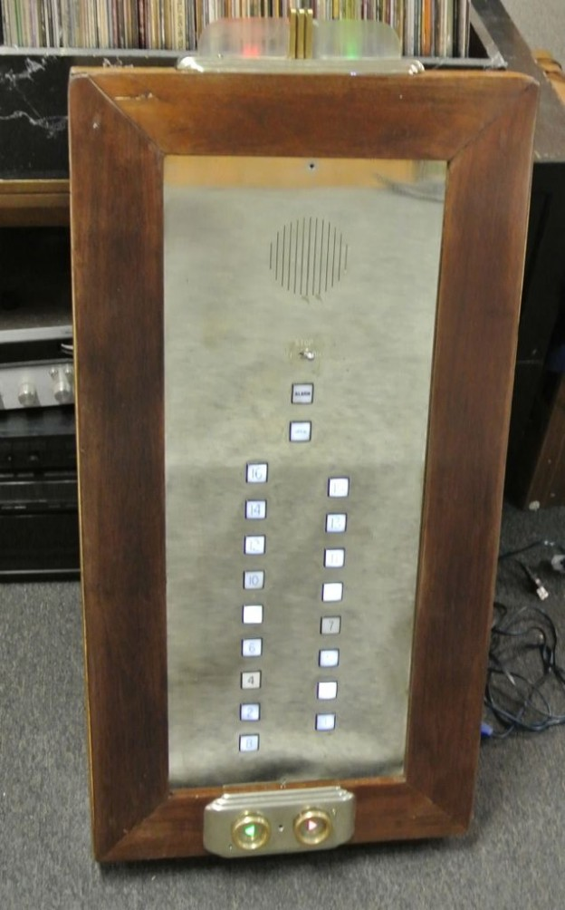 Elevator Panel Speaker Conversion