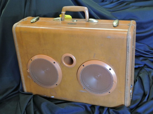 Butterscotch Tree Sonic Suitcase Speaker