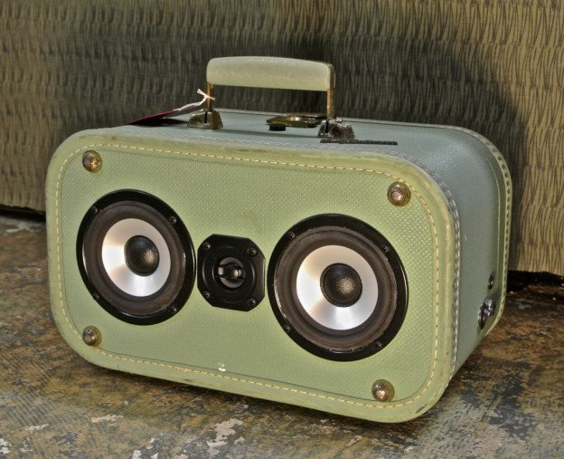 Green-eyed Lady Sonic Suitcase Speaker