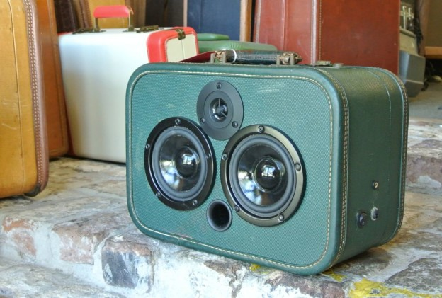 Green Nickels Sonic Suitcase Boombox