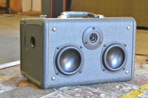 Grey Face Sonic Suitcase Boombox