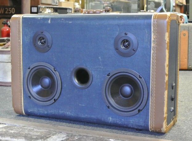 Blue Flynn Sonic Suitcase Boombox