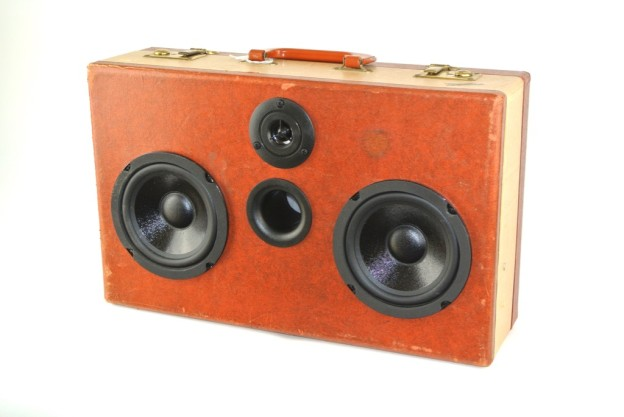 Brown Vacationer Bluetooth Speaker