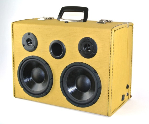 Yellow Sew Bluetooth Speaker